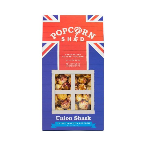 Cherry Bakewell Popcorn Shed 80g x10