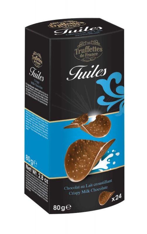Milk Chocolate Thins 80g x 12