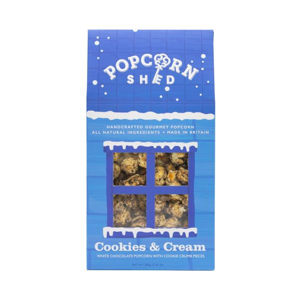 Cookies & Cream Popcorn Shed 80g x10