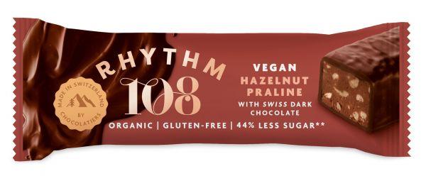 Swiss Choco Bar Praline Quinoa 33g x 15