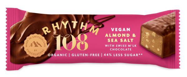 Swiss Choco Bar Sweet'n'salty Almond 33g x 15