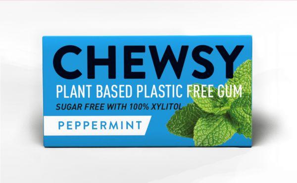 Chewsy Peppermint Gum 15g x 12
