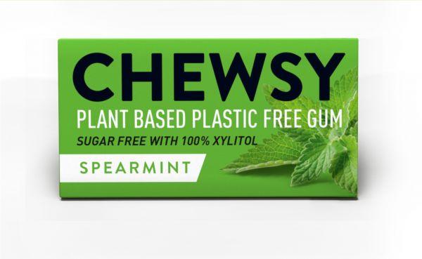 Chewsy Spearmint Gum 15g x 12