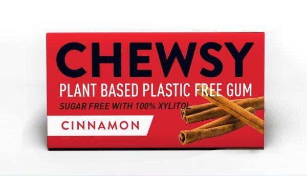 Chewsy Cinnamon Gum 15g x 12