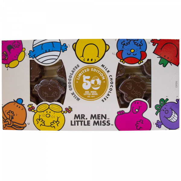 Mr Men and Little Miss Milk Chocolate Characters 90g x 12