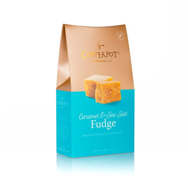 Caramel & Seasalt Butter Fudge 150g x 10