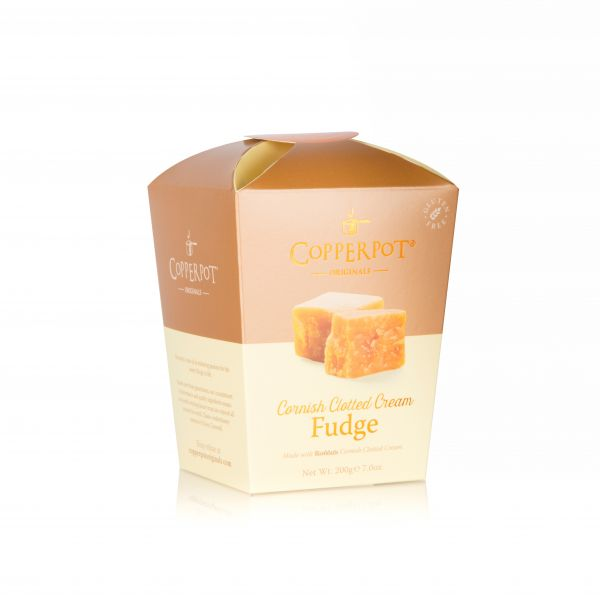 Cornish Clotted Cream Fudge 200g x 12