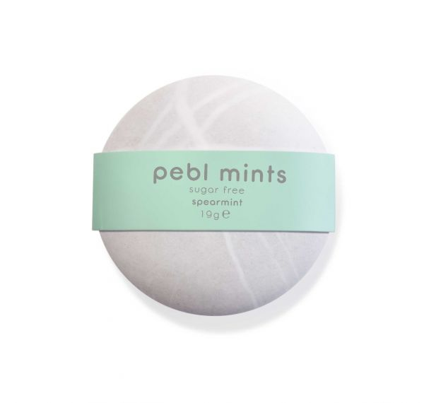 PEBL Mints Spearmint 19g x 12