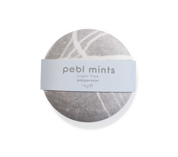 PEBL Mints Peppermint 19g x 12