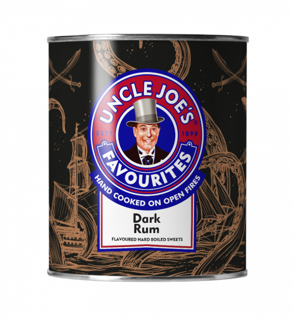 Uncle Joe's Dark Rum Gift Tin 120g x 6