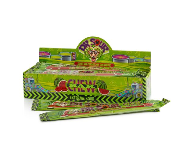 Dr.Sour - Watermelon Chew Bar 50g x 24