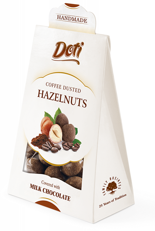 Hazelnuts in Milk Chocolate with Coffee 100g x 10