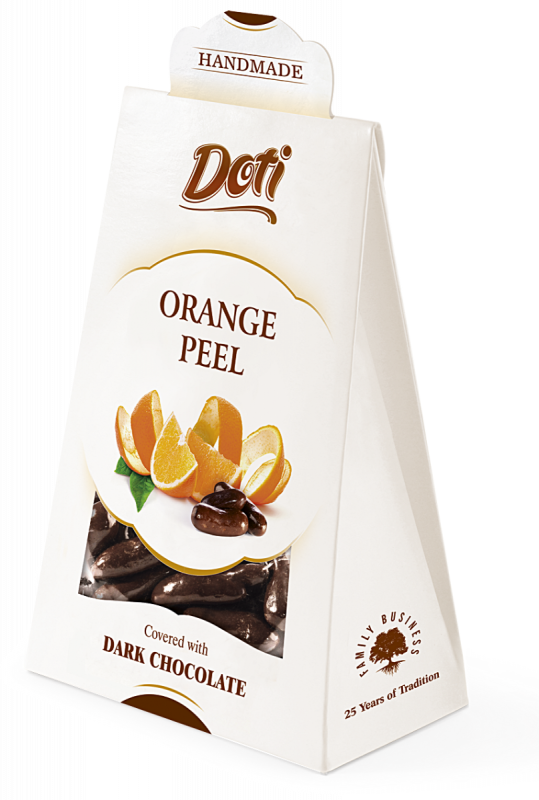 Orange Peel in Chocolate  100g x 10
