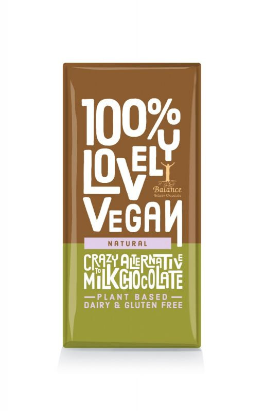 100% Lovely, Cocoa Rice Vegan Bar 85g x 12
