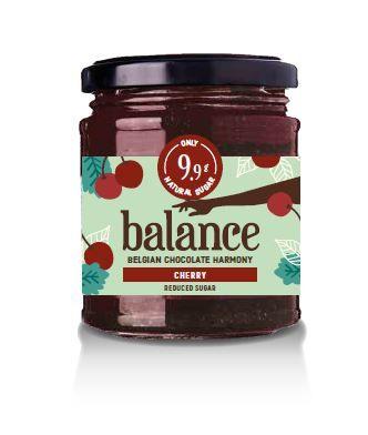 Balance No Added Sugar Cherry Jam 220g x 6 Zero VAT