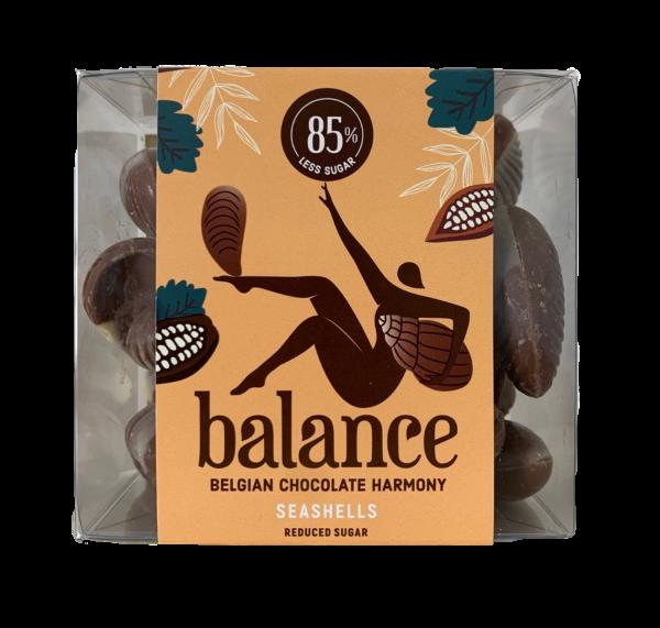 Balance No Added Sugar Box of Praline Seashells 170g x 10