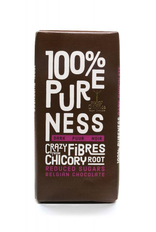 Dark 100% Pureness - no sugar/sweeteners - sweetened with chicory root 85g x 12 30.09.2020