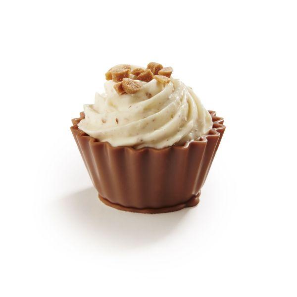 Cupcake - Salty Fudge Creme & Pecan Cream Cupcake x 1Kg (+/- 51pc) 31.08.2020
