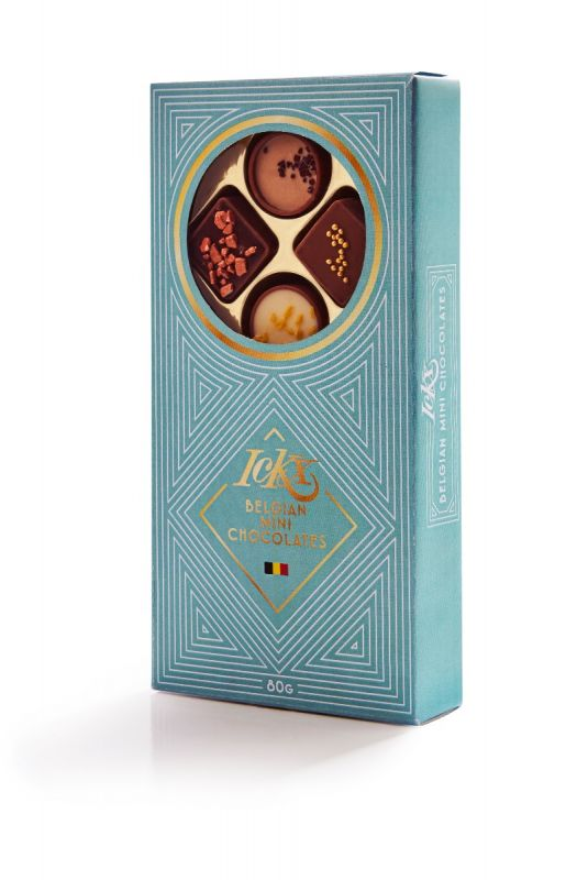 Finesse Mini Chocolates Gift Box (Mixed Case of 2 designs,10 chocs per box) 80g x 24