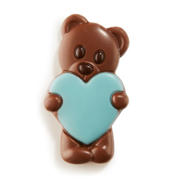 Lovely Bears Blue - Solid milk chocolate bears x 1.35Kg (+/- 108pc)