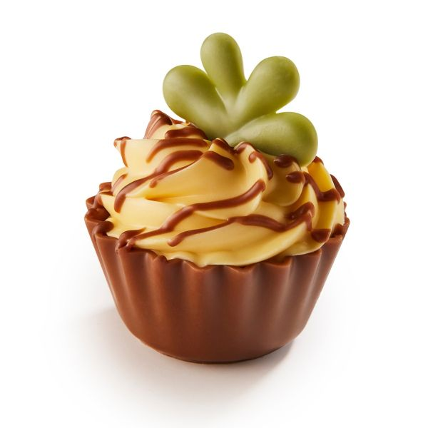 Pineapple Cupcake - Pineapple ganache and crème topping  x 1Kg (+/- 49pc)