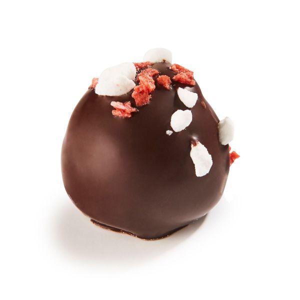 Fragolina - Strawberry Creme & Strawberry Ganache + pcs of strawberry and merengue x 1kg (+/- 66pc)