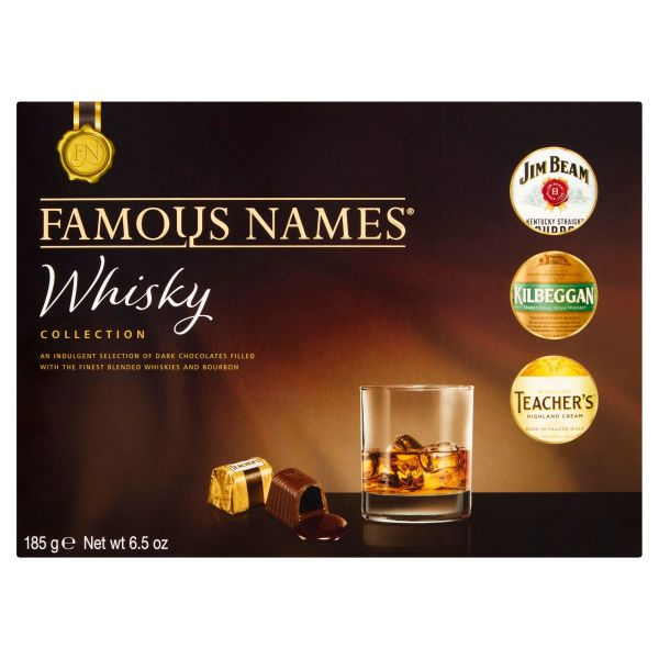 Famous Names Whisky Collection   185g x 8