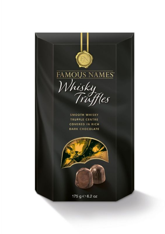 Famous Names Whisky Truffle 175g x 6