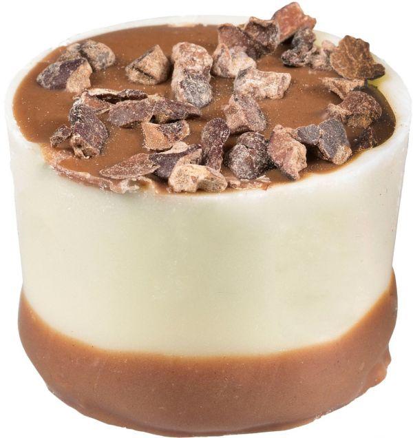 Latte Machiatto - Double Layer Cup with Coffee Flavour Ganache x 1kg (Approx 55 pcs)