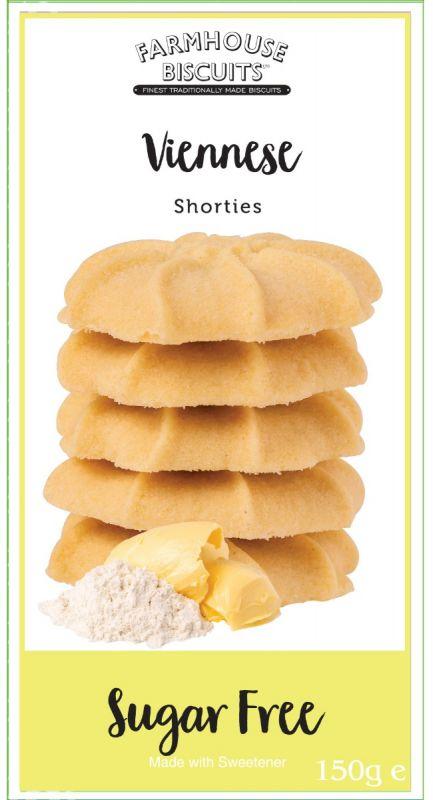 Sugar Free Shortbread 150g x 12 Zero VAT