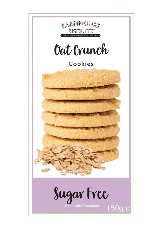 Sugar Free Oat Crunch  150g x 12 Zero VAT