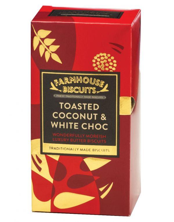 Luxury Toasted Coconut & White Choc Chunk 150g x 12 Zero VAT
