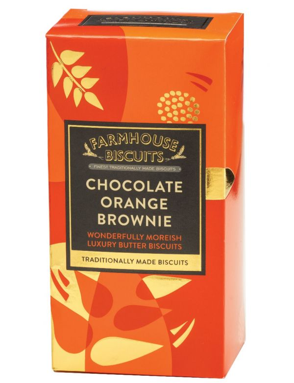 Luxury Choc Orange Brownie 150g x 12 Zero VAT