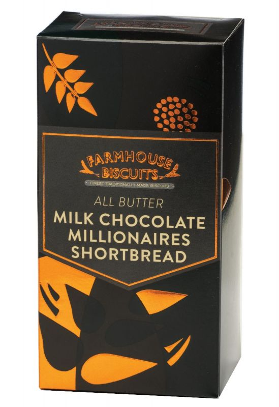 Luxury Fully Coated Milk Chocolate Millionaires 150g x 12
