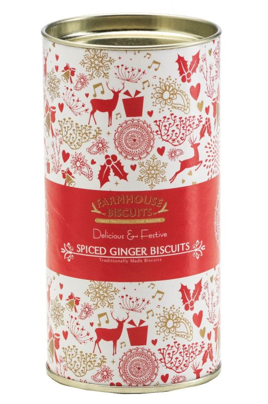 Spiced Ginger Christmas Tube 100g x 12 Zero VAT