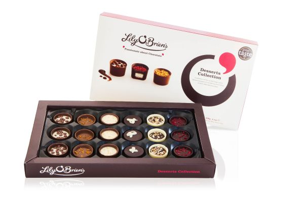Lily O'Brien's Desserts Collection 230g x 6