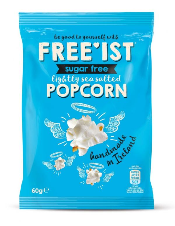 Free'ist - Popcorn - Lightly Sea Salted Sugar Free 60g x 12