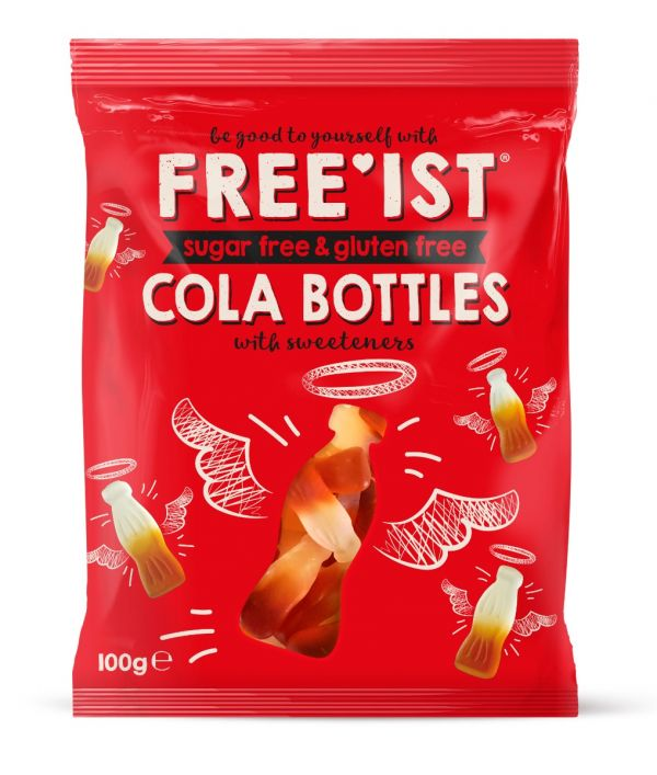 Free'ist - Sweet Cola Bottles Sugar Free 100g x 12