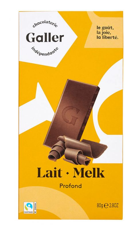 Milk Chocolate with Hint of Caramel 80g x 20