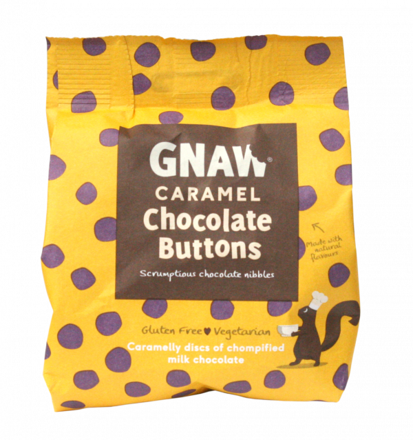 Caramel Chocolate Buttons 150g x 12