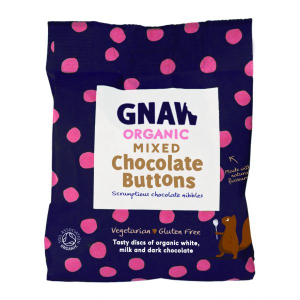 Organic Mixed Buttons 125g x 6