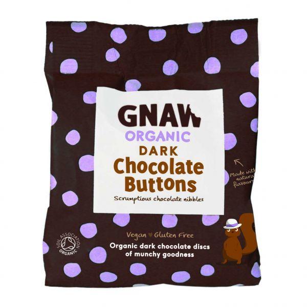 Organic Dark Buttons 125g x 6 GBORG04 DATED 31.03.2021