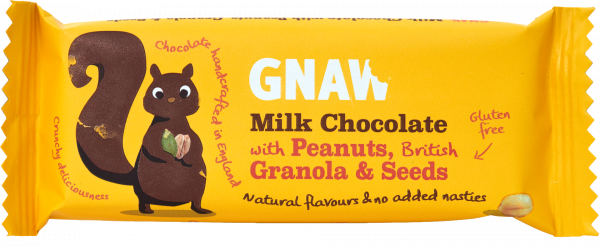 Granola Bar Milk Choc with Peanuts & Seeds 35g x 25