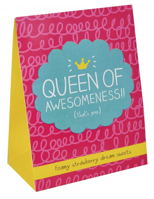 Happy Jackson - Queen of Awesomeness Pouch (Strawberry Dreams) 100g x 7