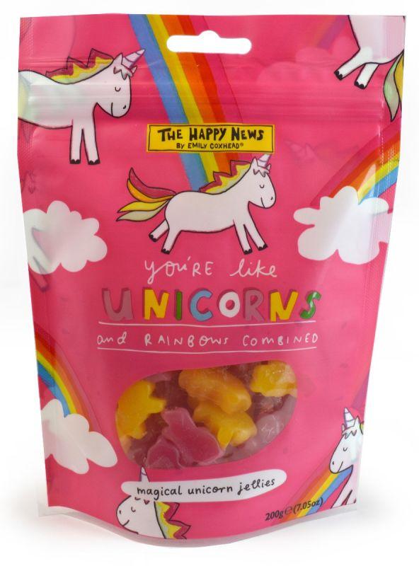 Happy News Unicorn Doybag 200g x 16
