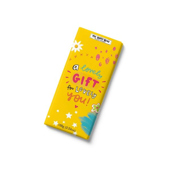 Happy News - A lovely gift for you- chocolate bar 100g x 12