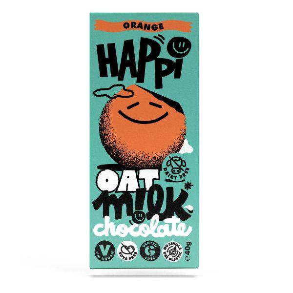 HAPPi Oat Mlk  Orange Chocolate  40g x 15