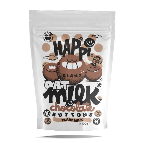 HAPPi Chocolate Buttons 100g x 10