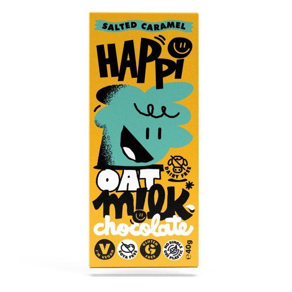 HAPPi Oat Mlk Salted Caramel Chocolate 40g x 15