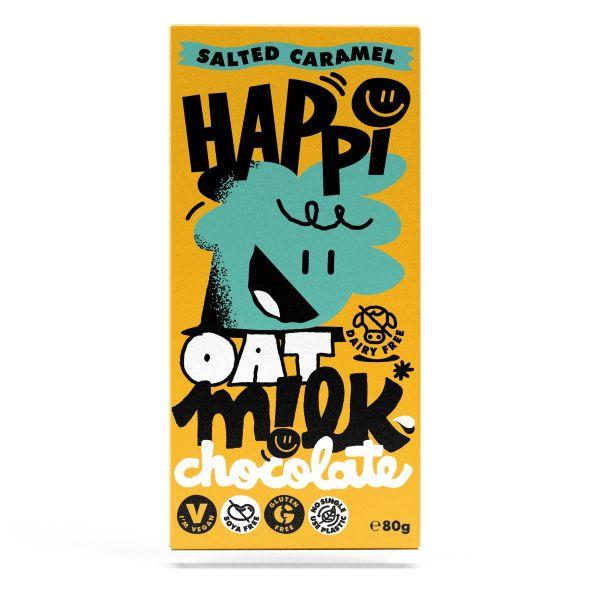 HAPPi Oat Mlk Salted Caramel Chocolate 80g x 12